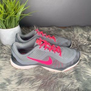 Nike Flex Trainer 6 Pink Grey